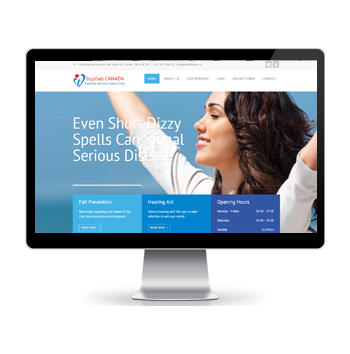Doctor Website Design Toronto