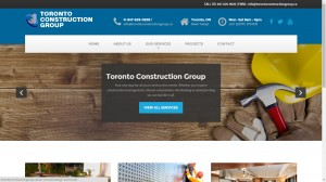 Construction Web Design Toronto